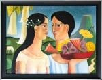 "Casamiento - Wedding - oil on canvas - 30"" x 40"" competed in 2016 by Armando Adrian-Lopez"