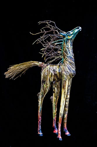El Caballo de la Savana - The Horse From The Savanna - 3D mixed media - 33