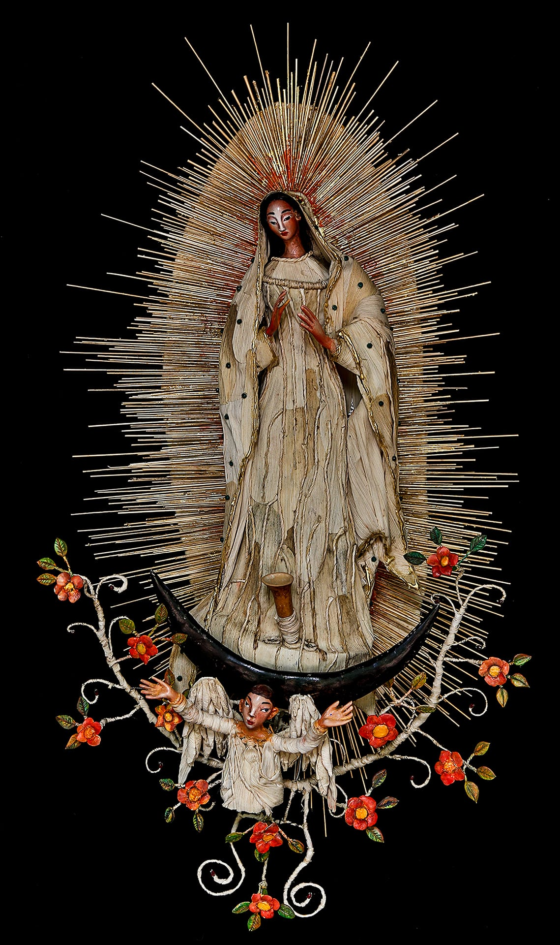 La Virgen de Guadalupe - 3D mixed media - 44