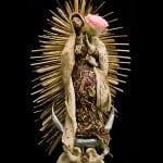 La Virgin de Guadalupe - 3D mixed media -26x16x8