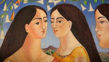 Tres Hermanas -oil on canvas-36″x48″